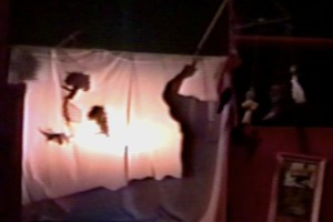 Life in The Big Cities, performed at the 1st Annual Black Sheep Puppet Festival, 1999