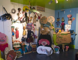 Puppet Archives at The Tom Museum, 2008, Photo by Larry Rippel