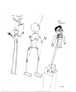 Puppet Sketches, 2006