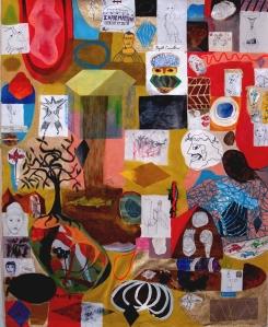 "Head East, 48"" x 60"", 2014"
