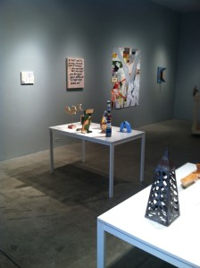 Installation view #2, The Occasional Market.