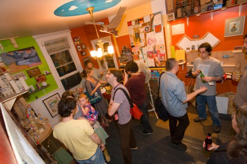 Closing Reception, May 2008. L. Rippel