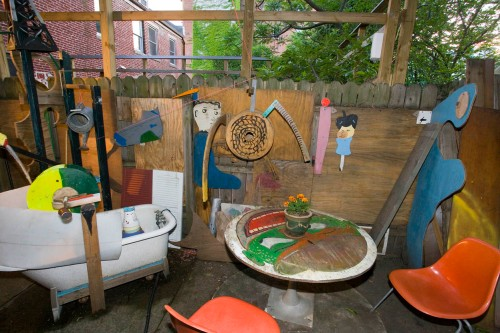 Backyard. L. Rippel