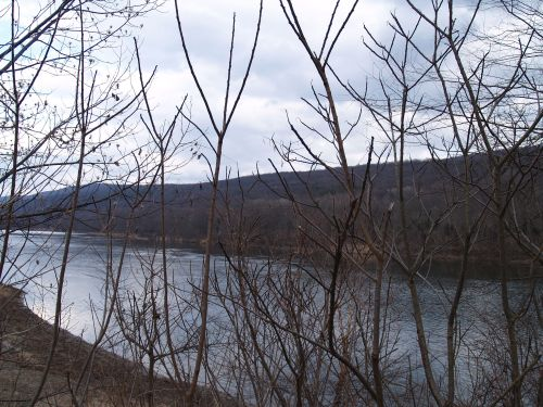 The Delaware River, Northeast PA, TS