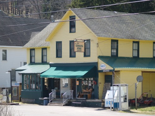 An old country general store.