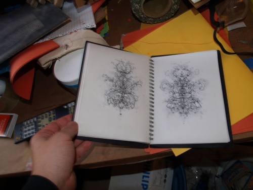 Artist book by Alberto Almarza.