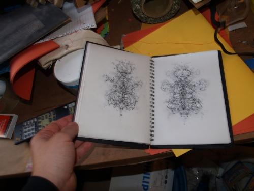 Artist book by Alberto Almarza.