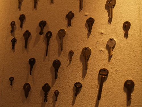 An assortment of my Grandfather's Keys.