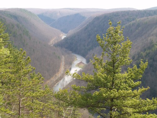 Pine Creek Gorge.