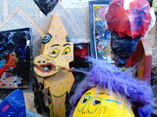 Puppet world opens at the Nutting Gallery, West Liberty University on March 25th.