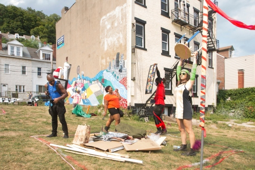 2015 Art Olympics (Larry Rippel Photograph).  The September 17th event will be indoors.
